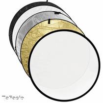 Rebatedor Circular Fotográfico 5x1 110cm Refletor E Difusor