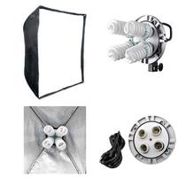 Iluminador Luz Continua + Softbox 90x90 + Tripé + Lâmp 220