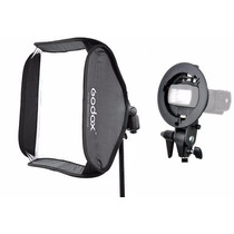 Softbox 60x60cm Para Flash Speedlight Godox Greika
