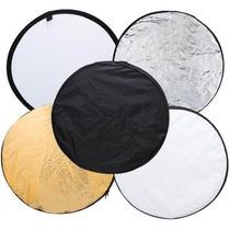 Rebatedor Difusor Circular 5 Em 1- 60cm Para Foto E Vídeo