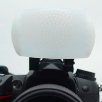 Difusor Flash Pop Up -canon Nikon Fuji- T3i T4i T5i T3 T4 T5