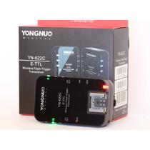 Radio Flash Ttl Yongnuo Yn622 / Compatível Canon Ou Nikon