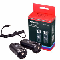 Radio Flash Yongnuo Rf603 Ii C3 Para Canon 5d 1d 50d 40d 30d