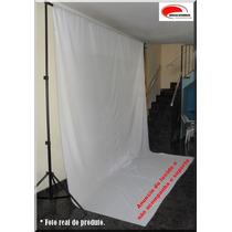 Tecido Fundo Infinito 3x4mt Branco Estudio Fotografico Pano