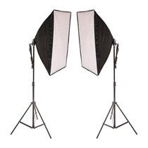 Kit De Iluminação Estúdio Fotográfico Ágata 2 50x70 (110v)