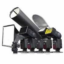 Kit De Acessórios Para Flash Speedlite Godox Sa-k6 Rebatedor