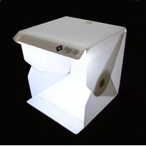 Mini Studio Tenda Fotográfica Portátil C/ Iluminação 36x36c