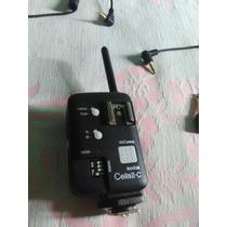 Radio Flash Trigger Godox Cellsii C Para Nikon E Canon Kit 2