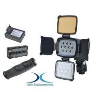 Iluminador Led Para Camera Dslr Canon T2i T3i T4i 60d 5d 7d