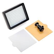 Iluminador 160 Led Para Filmadoras E Câmeras Dslr 12w 1280lm