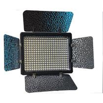 Ultra Iluminador Yn-300 Leds +bateria +carregador Promoção