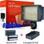 Iluminador Profissional De 160 Led+bateria+carreg-temos Loja