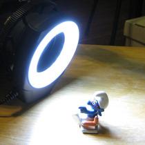 Macro Iluminador Led Polaroid Flash Universal 52mm 58mm 67