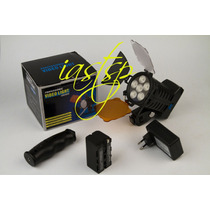 Iluminador De Led 920 Lux 6 Leds Modelo 5010 Dimmer
