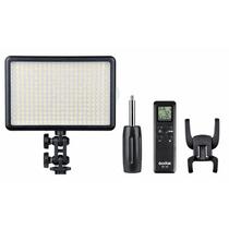 Iluminador Led Filmagem Godox308 Com Controle Remoto