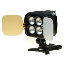 Iluminador Sun Gun 4 Super Leds Câmeras E Filmadoras - 9945