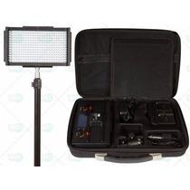 Iluminador Kit 312 Leds Profissional P/ Filmadora Vídeo Dslr