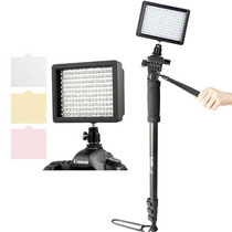 Kit Iluminação Led 160 + Monope 1.75m Estudio Videos Youtube