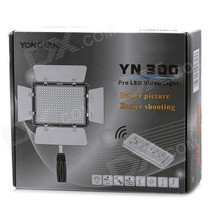 Led Iluminador Foto Video Yn 300 Yongnuo Canon Nikon Cn 160