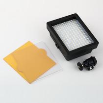 Iluminador De Led 160 P/ Filmadora Luz Camera Canon Nikon