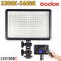 Iluminador Led308 Profissional Video Light C/ Controle Remot