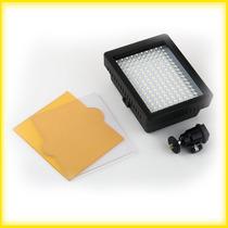 Iluminador 160 Led - Para Câmeras De Filmagem E Fotografia