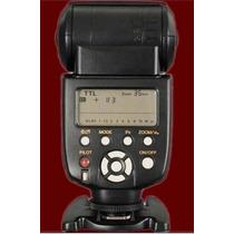 Flash Yongnuo Yn-565ex Ttl Wirelles P/ Nikon D3200 D5200 D90
