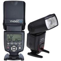 Flash Yongnuo Yn 560 Iv 560 Iii Canon Nikon + Nf + Difusor