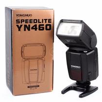 Flash Yongnuo - Yn-460 Compatível Canon Nikon Pentax Olympus