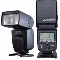 Flash Yongnuo Yn-568exii Yn568ex Canon Nikon Ttl Yn-568ex