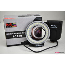 Led Macro Ring Flash Meike Fc-100