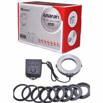 Flash Macro Circular Nikon Amaran Ahl-n60 Halo 60 Led Ring