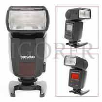 Flash Ttl Yongnuo Yn-468ii + Difusor Brinde P/canon Yn468 Ii