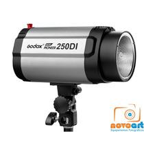 Flash Para Estúdio Fotográfico Godox 250di Greika Tocha 110v
