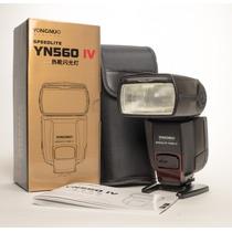 Novo Flash Yongnuo Yn560 Iv Para Canon Nikon Pentax Olympus