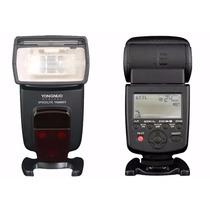 Flash Yongnuo Yn-568ex Ttl Canon Nikon + Difusor Grátis