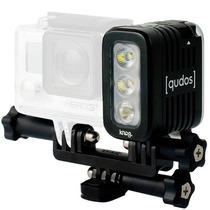 Knog Qudos Action - Led P/ Câmeras Gopro Sony Action E Dsrl
