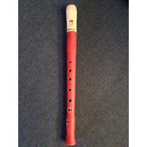 Flauta Doce Soprano Barroca Madeira Mollenhauer Original