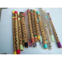 Pifano Tranversal De Bambú - Wa Instrumentos Flautas