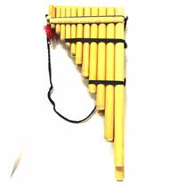 Samponã Profissional Flauta De Pã Peruana Bambu Feita A Mão