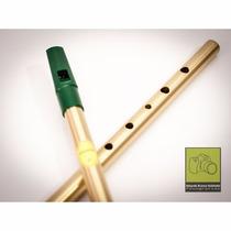Tin Whistle Flauta Irlandesa Feadóg Em Ré (d) Nova