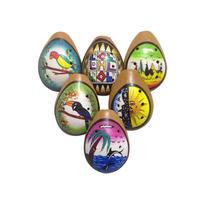 Ocarina Grande, Cerâmica Pintada, Instrumento De Sopro