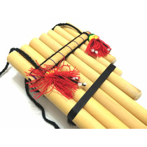 Quena Flauta Pan Hecha Peruana Indígena Inca Feita A Mão