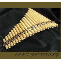 Flauta De Pan + Manual Basico+ Cd Audio Do Artista