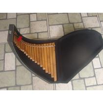 Flauta Pan-profissional Com Case De Madeira