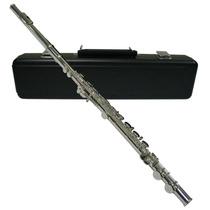 Harmony Flauta Transversal Cromada - Frete Grátis