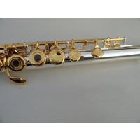 Flauta Henri Selmer Fl-618 Chaves Dourada