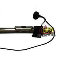 Microfone Para Flauta Mf-43 Com Controle De Volume! Básico2