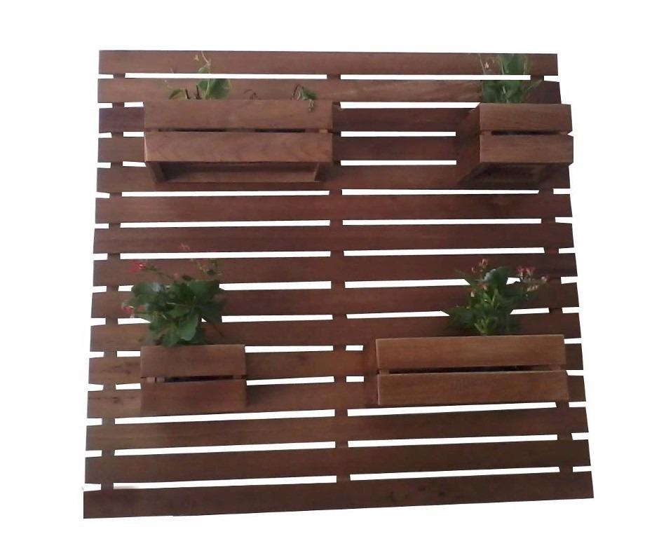 jardim vertical venda:Floreira De Parede Jardim Vertical 6 Peças Madeira Maciça – R$ 159
