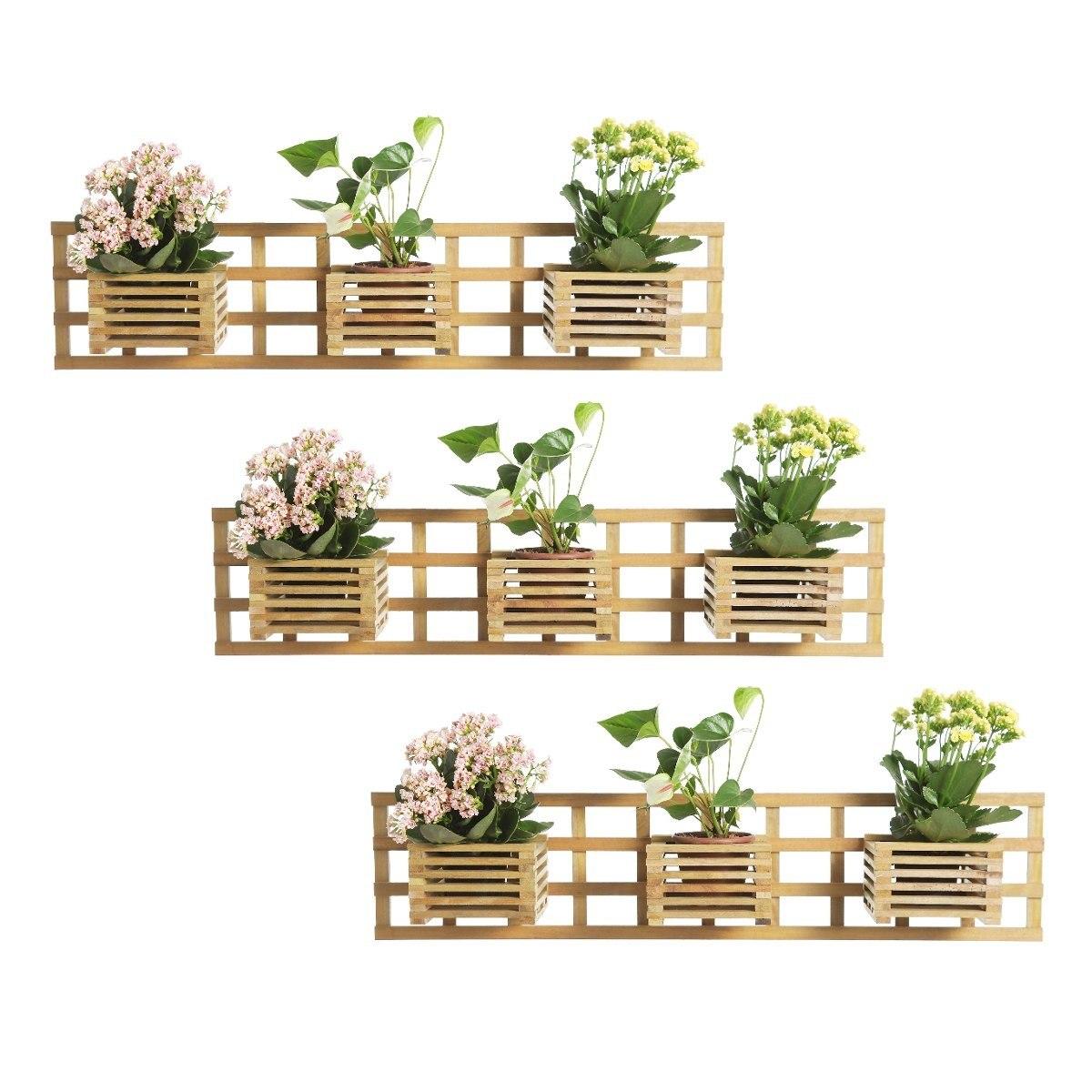 Floreira Madeira Rustica Parede E Jardim R$ 210 00 no MercadoLivre #957836 1200x1200